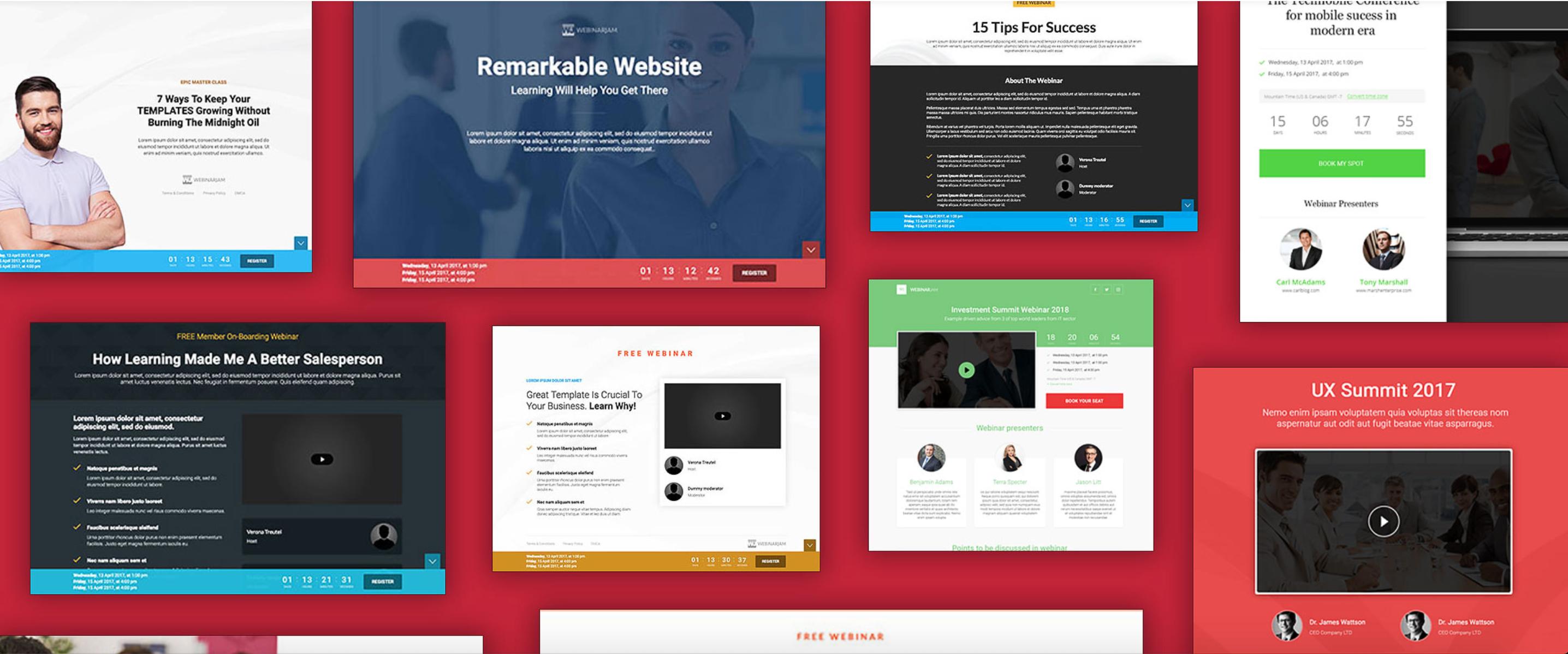 webinarjam registration page examples